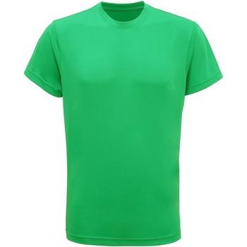 vaatteet Miehet Lyhythihainen t-paita Tridri TR010 Bright Kelly