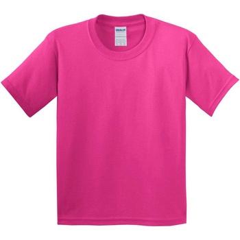 vaatteet Lapset Lyhythihainen t-paita Gildan 5000B Heliconia