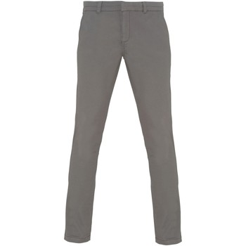 vaatteet Naiset Chino-housut / Porkkanahousut Asquith & Fox Chino Slate