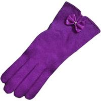 Asusteet / tarvikkeet Naiset Hanskat Eastern Counties Leather Geri Purple