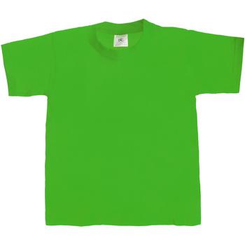 vaatteet Lapset Lyhythihainen t-paita B And C TK301 Kelly Green