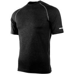 vaatteet Miehet Lyhythihainen t-paita Rhino RH002 Black Heather