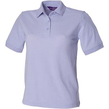vaatteet Naiset Lyhythihainen poolopaita Henbury HB401 Lavender