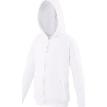 vaatteet Lapset Svetari Awdis JH50J Arctic White