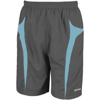 vaatteet Miehet Shortsit / Bermuda-shortsit Spiro S184X Grey/Aqua