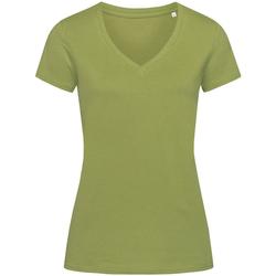 vaatteet Naiset Lyhythihainen t-paita Stedman Stars Janet Earth Green