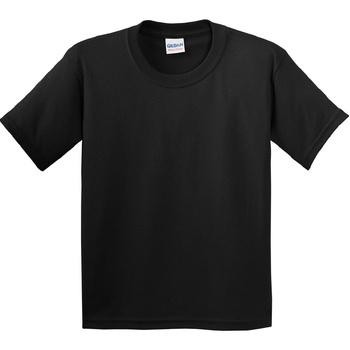vaatteet Lapset Lyhythihainen t-paita Gildan 5000B Black