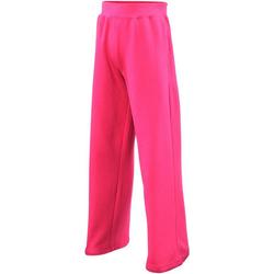 vaatteet Tytöt Verryttelyhousut Awdis JH71J Hot Pink