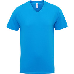 vaatteet Miehet Lyhythihainen t-paita Gildan 41V00 Sapphire