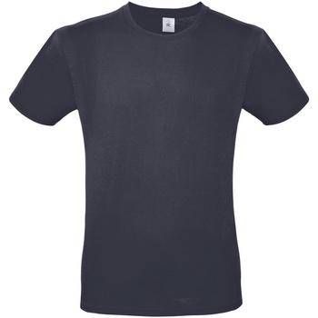 vaatteet Miehet Lyhythihainen t-paita B And C TU01T Light Navy