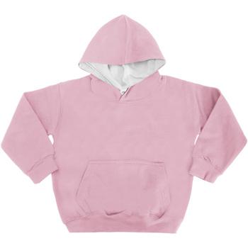 vaatteet Lapset Svetari Awdis JH03J Baby Pink/Arctic White