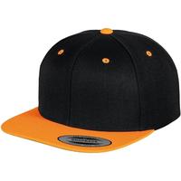 Asusteet / tarvikkeet Lippalakit Yupoong YP002 Black/ Neon Orange