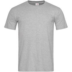 vaatteet Miehet Lyhythihainen t-paita Stedman  Heather Grey