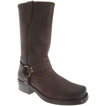 kengät Miehet Saappaat Woodland Harley Dark Brown