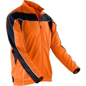 vaatteet Miehet Ulkoilutakki Spiro S255M Orange/ Black