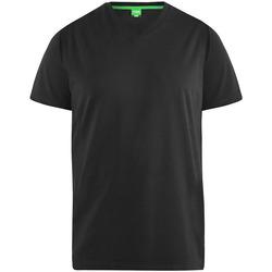 vaatteet Miehet Lyhythihainen t-paita Duke  Black