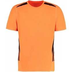 vaatteet Miehet Lyhythihainen t-paita Gamegear KK930 Fluorescent Orange/Black