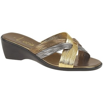 kengät Naiset Sandaalit Lucia  Bronze/Pewter/Gold