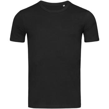 vaatteet Miehet Lyhythihainen t-paita Stedman Stars Morgan Black Opal