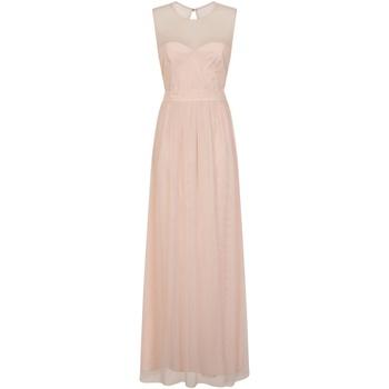 vaatteet Naiset Pitkä mekko Little Mistress  Pink