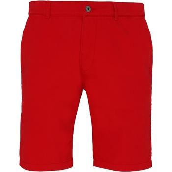 vaatteet Miehet Shortsit / Bermuda-shortsit Asquith & Fox AQ051 Cherry Red