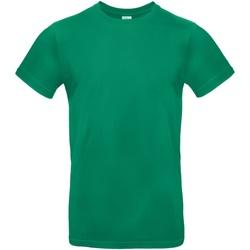 vaatteet Miehet Lyhythihainen t-paita B And C TU03T Kelly Green