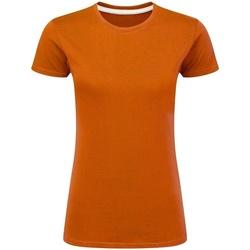 vaatteet Naiset Lyhythihainen t-paita Sg Perfect Orange