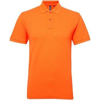 vaatteet Naiset Lyhythihainen poolopaita Asquith & Fox AQ025 Neon Orange