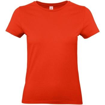 vaatteet Naiset Lyhythihainen t-paita B And C E190 Fire Red