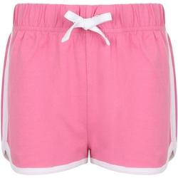 vaatteet Lapset Shortsit / Bermuda-shortsit Skinni Fit SM69 Bright Pink/White