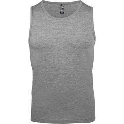 vaatteet Miehet Hihattomat paidat / Hihattomat t-paidat Sols 11465 Grey Marl