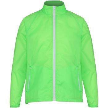 vaatteet Miehet Tuulitakit 2786 TS011 Lime/ White