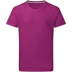 vaatteet Miehet Lyhythihainen t-paita Sg Perfect Dark Pink