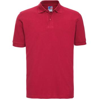 vaatteet Miehet Lyhythihainen poolopaita Russell 569M Classic Red