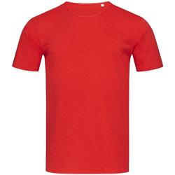 vaatteet Miehet Lyhythihainen t-paita Stedman Stars Shawn Crimson Red