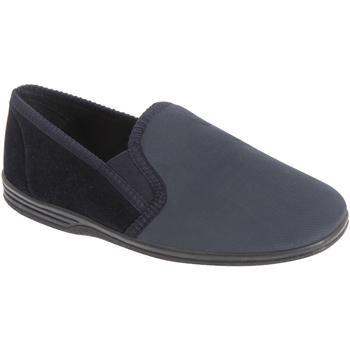 kengät Miehet Tossut Zedzzz  Navy Blue/Grey