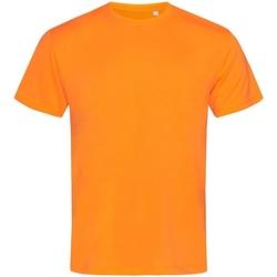 vaatteet Miehet Lyhythihainen t-paita Stedman  Cyber Orange