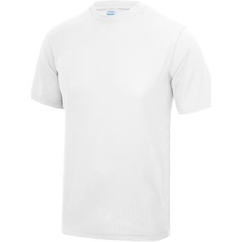 vaatteet Lapset Lyhythihainen t-paita Awdis JC01J Arctic White