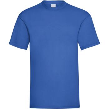 vaatteet Miehet Lyhythihainen t-paita Universal Textiles 61036 Cobalt