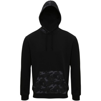 vaatteet Miehet Svetari Asquith & Fox AQ047 Black/Grey Camo
