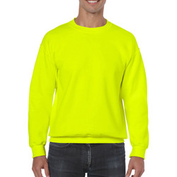vaatteet Svetari Gildan 18000 Safety Green