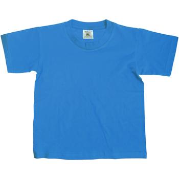 vaatteet Lapset Lyhythihainen t-paita B And C TK300 Atoll