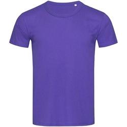 vaatteet Miehet Lyhythihainen t-paita Stedman Stars Stars Deep Lilac