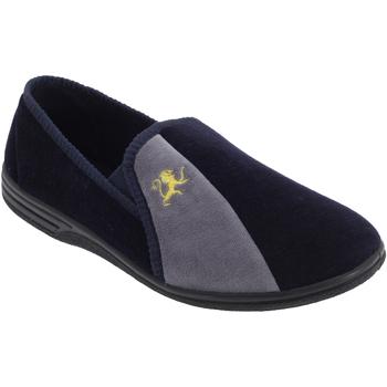 kengät Miehet Tossut Zedzzz Aaron Navy Blue/Grey