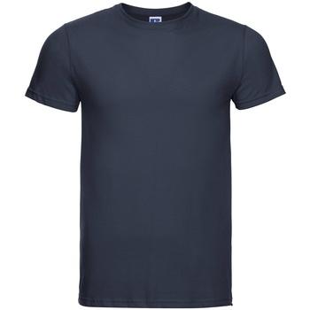 vaatteet Miehet Lyhythihainen t-paita Russell R155M French Navy