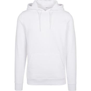 vaatteet Miehet Svetari Build Your Brand BY011 White