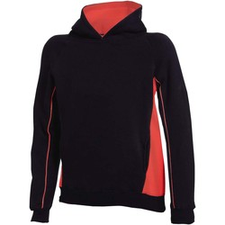 vaatteet Lapset Svetari Finden & Hales LV339 Black/Red