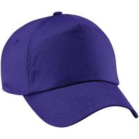 Asusteet / tarvikkeet Lippalakit Beechfield B10 Purple