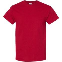 vaatteet Miehet Lyhythihainen t-paita Gildan Heavy Antique Cherry Red