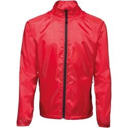 vaatteet Miehet Tuulitakit 2786  Red/ Black